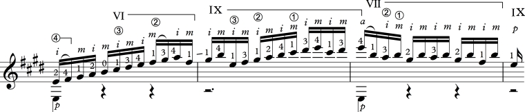Bach Right Hand Example 1