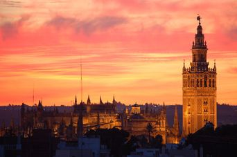 El_atardecer_sobre_Santa_María-1